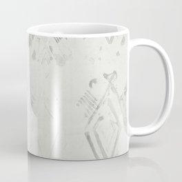 Simply Ikat Ink in Lunar Gray Coffee Mug