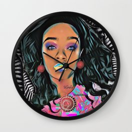 Keisha Johnson Wall Clock