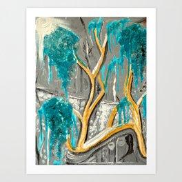 Resting Tree Art Print