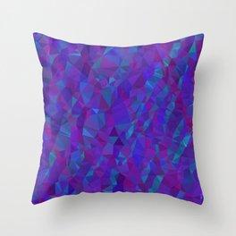 Jewel Tone Sparkles Throw Pillow