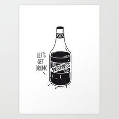 Pure awesomness Art Print