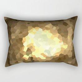 Gold Light Universe Love Rectangular Pillow