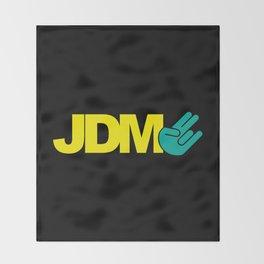 JDM shocker v2 HQvector Throw Blanket