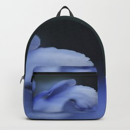 Beautiful blue flower Backpack