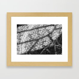 Your Mother's Lace Framed Art Print