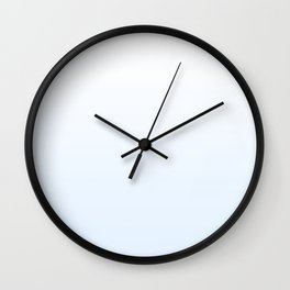 pretty blue gradient Wall Clock