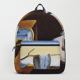THE PERSISTENCE OF MEMORY - SALVADOR DALI Backpack