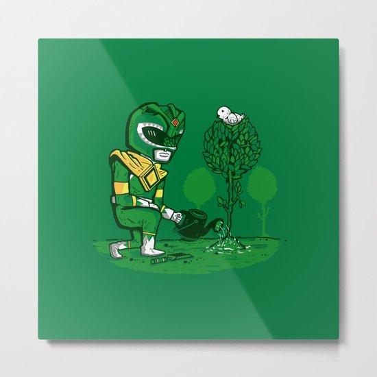 Green Ranger Metal Print