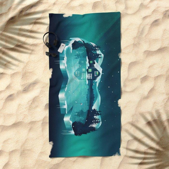 Frozen Magic Beach Towel