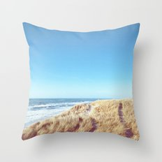WIDE AND FREE Throw Pillow