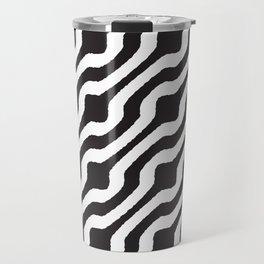 Marvin (white on black) Travel Mug