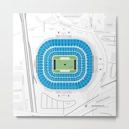 Stadium Traditions: The Panther's Lair (Bank of America Stadium) Metal Print