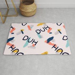 DUH Pattern Rug