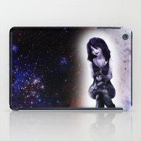 sandman iPad Cases featuring Death by raulovsky (Raúl Ramos Melo)