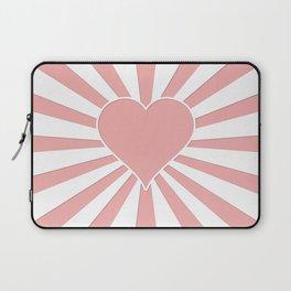 Blush Pink Valentine Sweetheart Love Explosion Laptop Sleeve