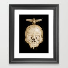 The Consequence of Time Framed Art Print
