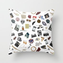 The XF Episodes Throw Pillow