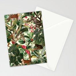 Monkey Forest Stationery Cards