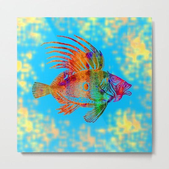 Fish R Metal Print