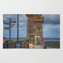 The Rhenish Tower at Lynmouth Rug