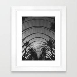 palm days Framed Art Print