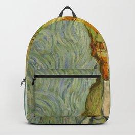 Van Gogh self-portrait Backpack