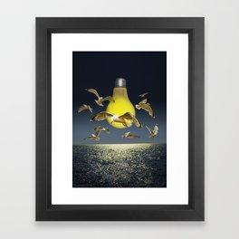 Ideas take Flight Framed Art Print