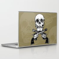 kindle Laptop & iPad Skins featuring 113 by ALLSKULL.NET
