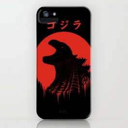 Kaiju Regeneration iPhone Case