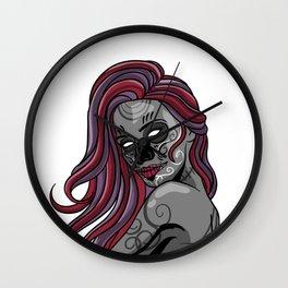 Zombie Woman Beast Monster Decedent  Phantom Gift  Wall Clock