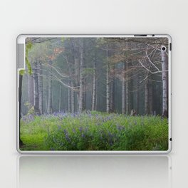 Lupines At The Forest's Edge Laptop & iPad Skin
