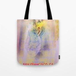 Clutch San Francisco Poster (Full Color) Tote Bag