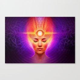 Mind Molecular Congruence Canvas Print