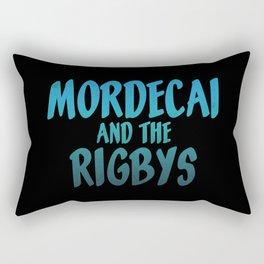 Mordecai and the Rigbys Rectangular Pillow