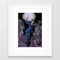 studio killers Framed Art Prints featuring Stocking Killers by The Art of Anastasia Catris