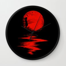 The Land of the Rising Sun Wall Clock