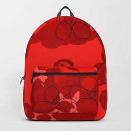 Red Geranium Backpack