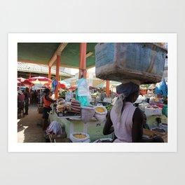 Merchants of Africa Art Print