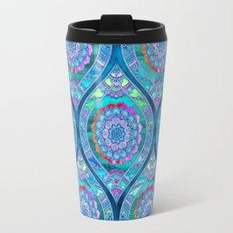 Radiant Boho Color Play Travel Mug