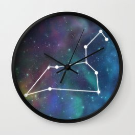 LEO (ASTROLOGICAL SIGN) Wall Clock
