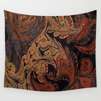 tapestry Wall Tapestries featuring Tapestry by Lauren Epifanio