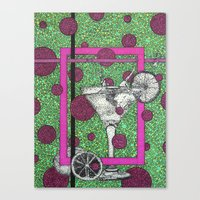 drink Canvas Prints featuring Drink by Aimee Alexander