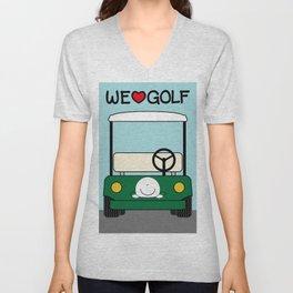 WE♥GOLF Unisex V-Neck