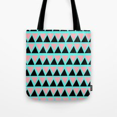 Electric Triangle  Tote Bag