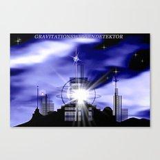 Gravitationsdetektor. Canvas Print