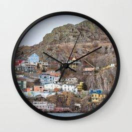 Newfoundland 4 Wall Clock