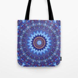 Mandala Sahasrara Tote Bag