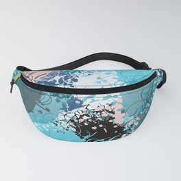 Abstract pattern 68 Fanny Pack