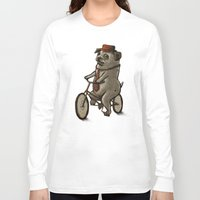 dogs Long Sleeve T-shirts featuring Dogs by Ronan Lynam