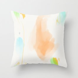 Abstract sunrise S5 Throw Pillow